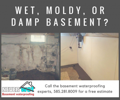 Fresh Neverwet Basement Waterproofing