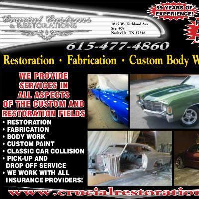 Custom Auto Painting Nashville Tn