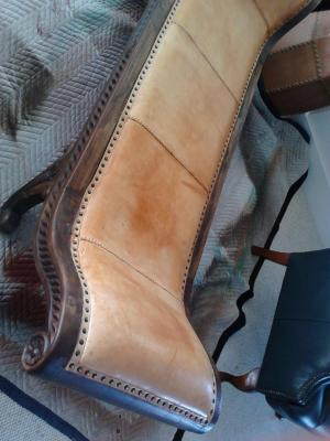 Leather & Vinyl Upholstery Repair and recoloring - South Portland, ME